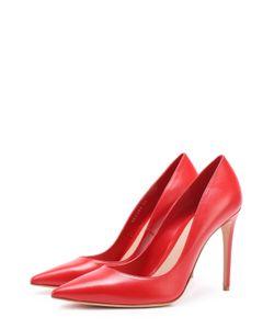 Alexander McQueen | Кожаные Туфли На Шпильке