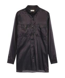 Dries Van Noten | Полупрозрачная Блуза С Накладными Карманами