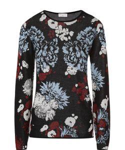 Dries Van Noten | Пуловер Прямого Кроя С Цветочным Принтом
