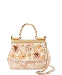 Dolce & Gabbana | Сумка Sicily Small С Отделкой Кристаллами Limited Edition