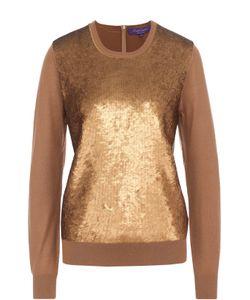 Ralph Lauren | Кашемировый Пуловер С Пайетками