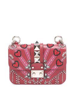 Valentino | Сумка Glam Lock Loveblade Mini С Кристаллами