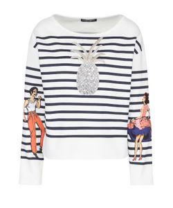 Dolce & Gabbana | Тельняшка Прямого Кроя С Декоративной Отделкой