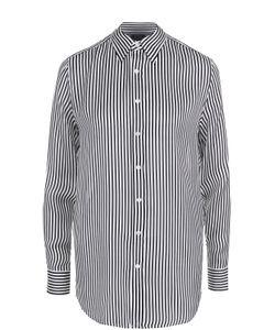 Polo Ralph Lauren | Шелковая Блуза Прямого Кроя В Полоску