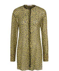 Dorothee Schumacher | Шелковая Блуза Свободного Кроя С Круглым Вырезом