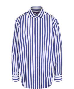 Ralph Lauren | Хлопковая Блуза Свободного Кроя В Полоску