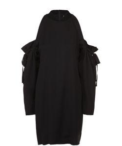 DKNY | Платье Прямого Кроя С Открытыми Плечами И Бантами