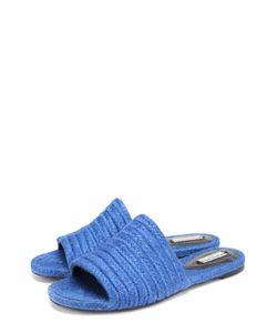 Balenciaga | Плетеные Сабо Из Текстиля