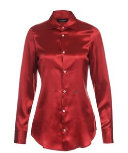 Dsquared2 | Шелковая Приталенная Блуза