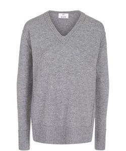 Allude   Пуловер Из Смеси Шерсти И Кашемира С V-Образным Вырезом
