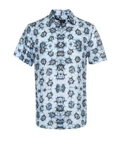 Baldessarini | Льняная Рубашка С Короткими Рукавами