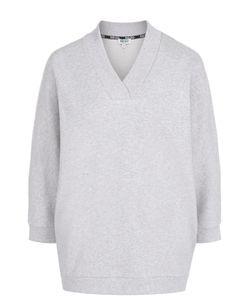 Kenzo | Пуловер С V-Образным Вырезом И Контрастной Надписью На Спинке
