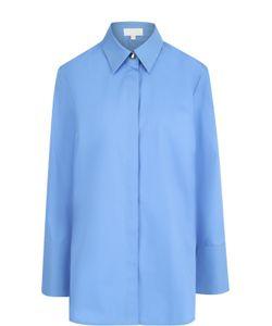 Escada Sport | Удлиненная Хлопковая Блуза Свободного Кроя