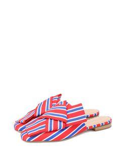 Stella Jean | Сабо Libertina Из Текстиля С Бантами