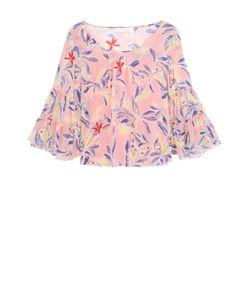 See By Chloe | Шелковая Блуза Свободного Кроя С Цветочным Принтом See By Chloé