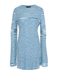 Ellery | Удлиненный Пуловер С Круглым Вырезом И Высокими Разрезами