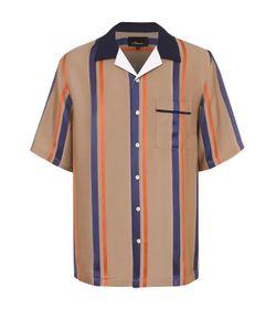 3.1 Phillip Lim | Рубашка Из Вискозы Свободного Кроя С Шелковой Отделкой