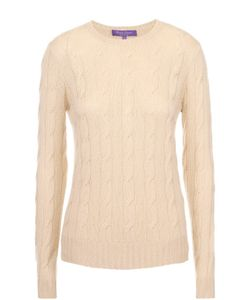 Ralph Lauren | Приталенный Кашемировый Пуловер Фактурной Вязки