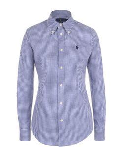 Polo Ralph Lauren | Хлопковая Приталенная Блуза В Клетку