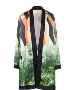 Dries Van Noten | Удлиненная Блуза С Запахом И Принтом