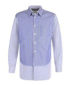 Comme Des Garcons | Хлопковая Рубашка Свободного Кроя С Отделкой