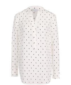 Escada Sport | Шелковая Блуза Свободного Кроя С Принтом