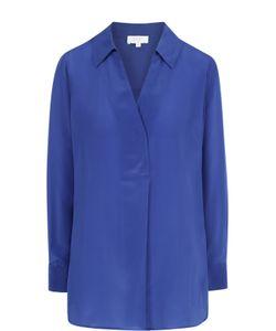 Escada Sport   Шелковая Блуза Свободного Кроя С V-Образным Вырезом