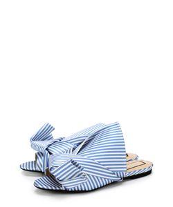 No. 21 | Текстильные Сабо С Бантом
