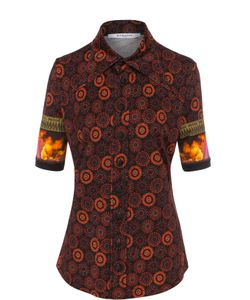 Givenchy | Блуза С Укороченным Рукавом И Принтом