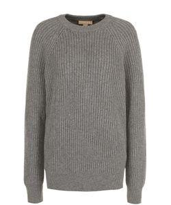 Michael Kors | Удлиненный Кашемировый Пуловер С Круглым Вырезом