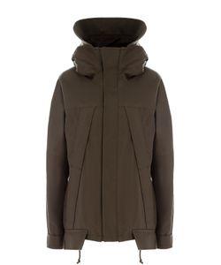 Yohji Yamamoto | Хлопковая Куртка Свободного Кроя С Капюшоном