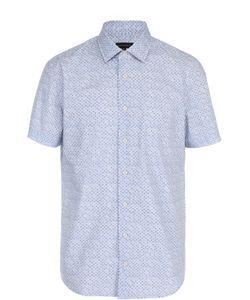 Baldessarini | Хлопковая Рубашка С Короткими Рукавами
