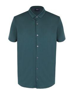 ARMANI JEANS | Хлопковая Рубашка С Короткими Рукавами