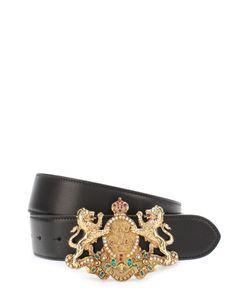 Ralph Lauren | Кожаный Ремень С Фигурной Пряжкой С Декором
