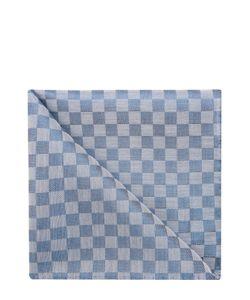 Simonnot-Godard | Платок Из Смеси Хлопка И Шелка В Клетку
