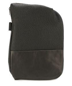 Cote & Ciel | Кожаный Рюкзак Isar С Текстильной Отделкой Coteciel