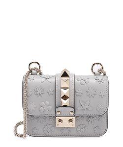Valentino | Сумка Glam Lock Mini С Аппликацией В Виде Цветов