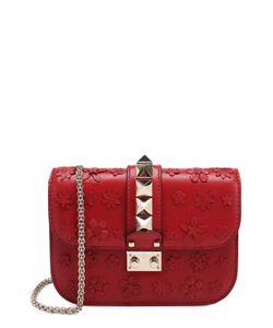 Valentino | Сумка Glam Lock Small С Аппликацией В Виде Цветов