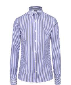 Stella Jean | Приталенная Хлопковая Блузу В Полоску