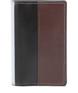 Marni | Кожаный Футляр Для Кредитных Карт С Контрастной Отделкой