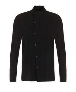 Masnada | Хлопковая Рубашка С Косым Рядом Пуговиц