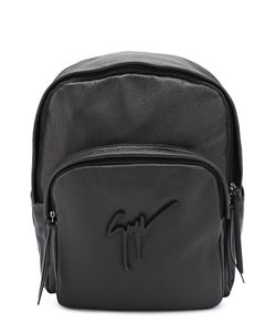 Giuseppe Zanotti Design | Кожаный Рюкзак С Внешним Карманом На Молнии