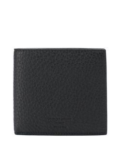 Giorgio Armani | Кожаное Портмоне С Отделениями Для Кредитных Карт И Монет