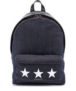Givenchy | Рюкзак Из Денима С Логотипом Бренда