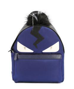 Fendi | Рюкзак С Аппликацией Bag Bugs И Меховой Отделкой