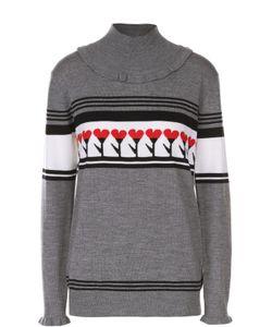 Markus Lupfer | Пуловер Прямого Кроя С Контрастным Принтом