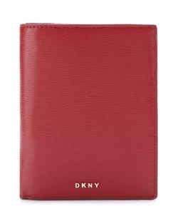 DKNY   Комплект Из Кожаной Обложки Для Документов И Брелока Для Ключей