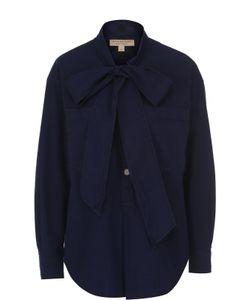 Burberry | Блуза Свободного Кроя С Воротником Аскот