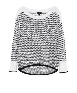 Rag & Bone | Пуловер Фактурной Вязки С Вырезом-Лодочка
