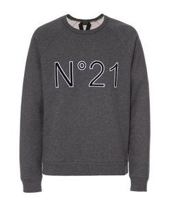 No. 21 | Хлопковый Свитшот С Логотипом Бренда